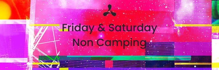 Friday + Saturday Ticket (Non-Camping)