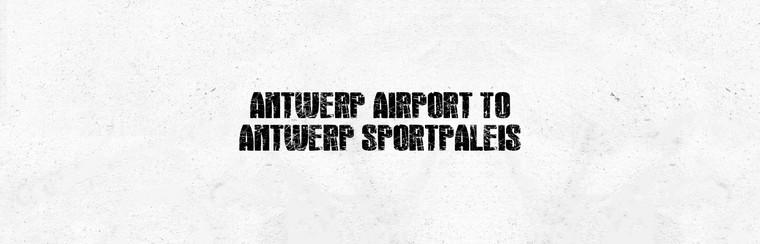 I'Way One-Way Transfer - Luchthaven Antwerpen naar Antwerps Sportpaleis