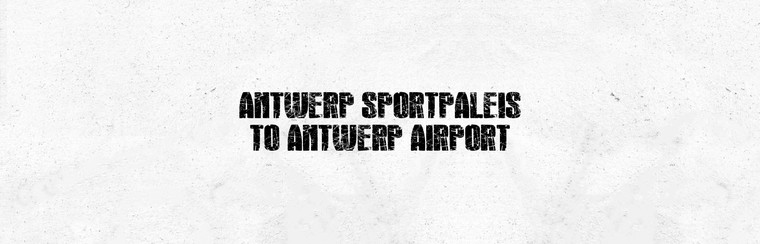 I'Way One-Way Transfer - Antwerps Sportpaleis naar luchthaven Antwerpen