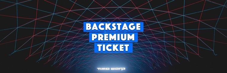 Backstage Premium Ticket