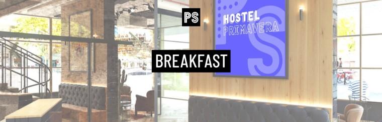 Breakfast @ Hostel Primavera