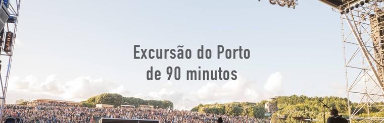 Ruta de introducción de 90 minutos por Oporto