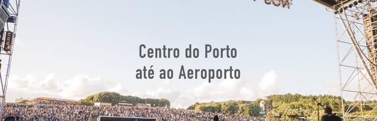 I'Way Transfer solo ida: centro de Oporto - aeropuerto Oporto