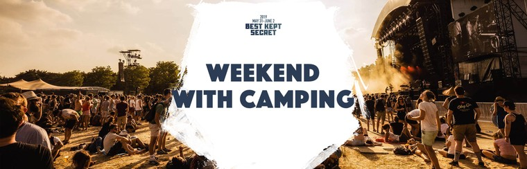 Weekend Ticket with Camping