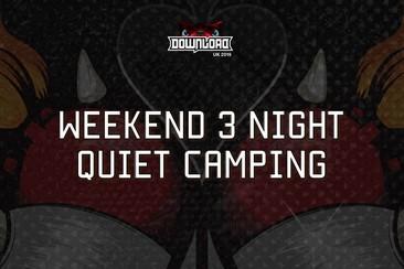 Weekend 3 Night Quiet Camping