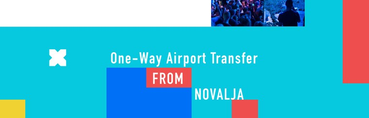 One-Way Airport Transfer from Novalja