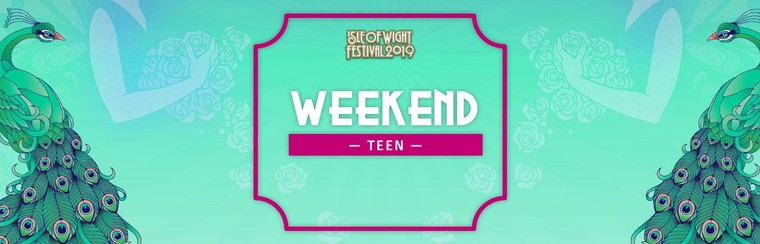 Teen Weekend Ticket