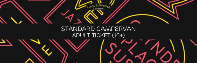 Standard Campervan User Adult Ticket (Age 16+)