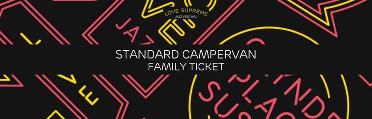 Standard Campervan User Family Ticket