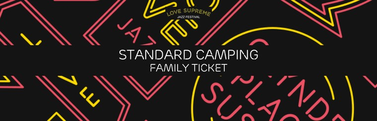 Standard Camping Family Ticket