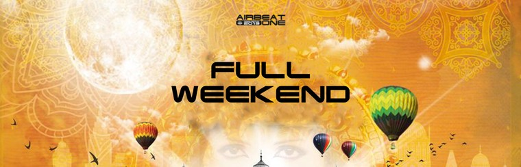 3-Tages-Standard-Ticket - Full Weekend