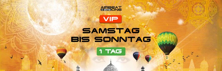 1 Day VIP Ticket - Sat to Sun