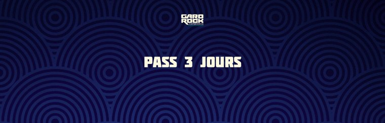 Pass 3 Jours + Camping