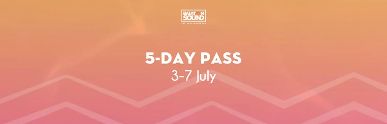 5 Day Pass 3-7 July
