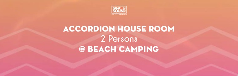 Accordion House Room for 2 Persons @ Beach Camping