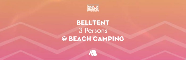 Belltent for 3 Persons @ Beach Camping