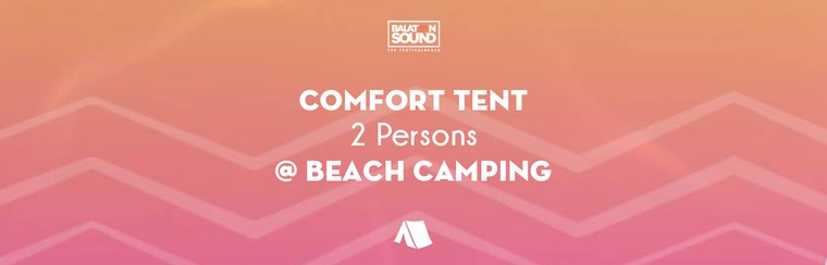 Comfort Tent for 2 Persons @ Beach Camping
