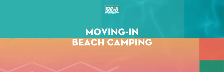 Moving-In Beach Camping Ticket