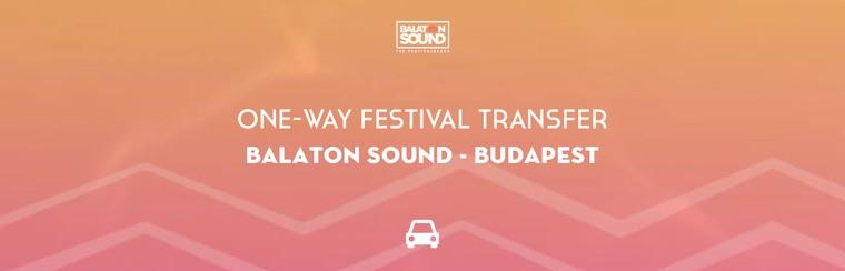 One-Way Festival Transfer | Balaton Sound - Budapest