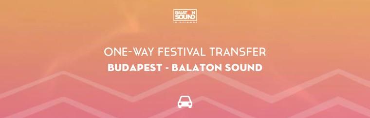 One-Way Festival Transfer | Budapest - Balaton Sound