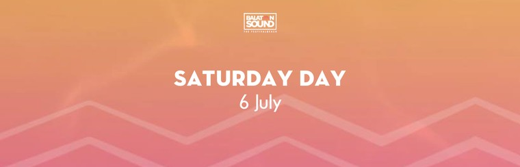 Saturday Day Ticket 6 July