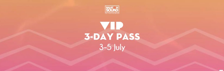 VIP 3 Day Pass 3-5 July