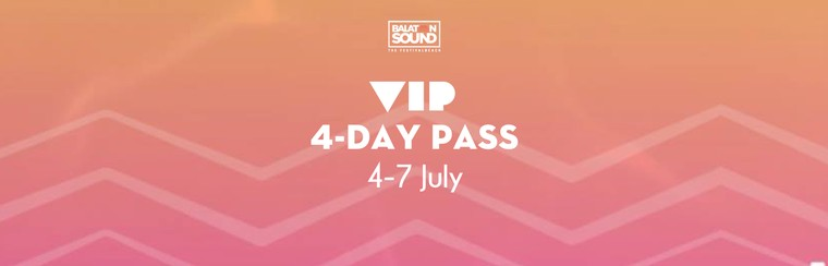 VIP 4 Day Pass 4-7 July