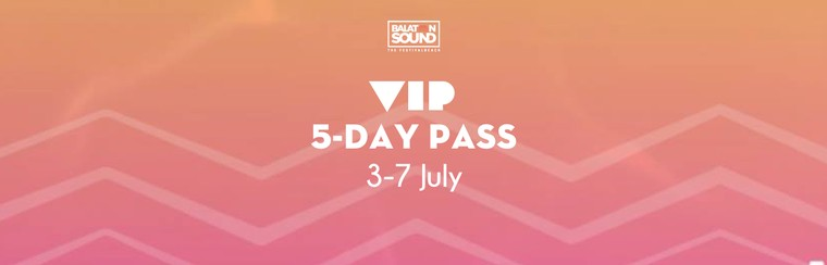 VIP 5 Day Pass 3-7 July