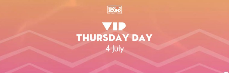 VIP Day Ticket Thursday 4 July