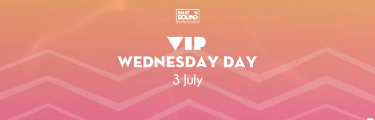VIP Day Ticket Wednesday 3 July