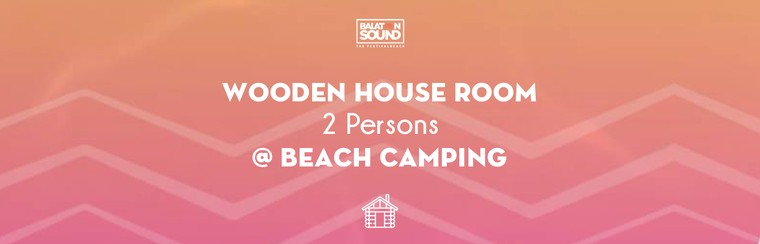 Wooden House Room for 2 Persons @ Beach Camping