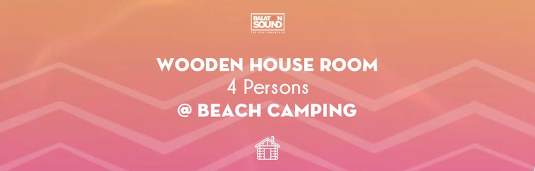 Wooden House for 4 Persons @ Beach Camping