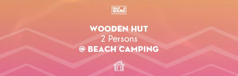 Wooden Hut for 2 Persons @ Beach Camping