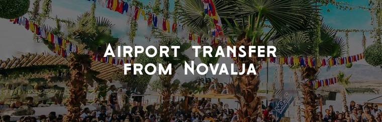 Traslado aeropuerto solo ida desde Novalja