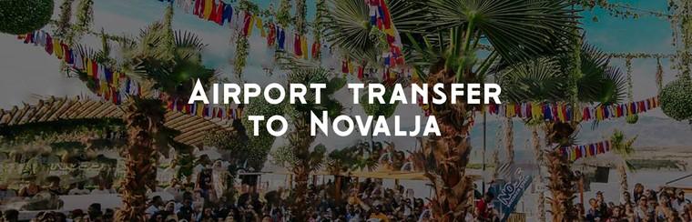 Transfert (aller simple) | Aéroport - Novalja.