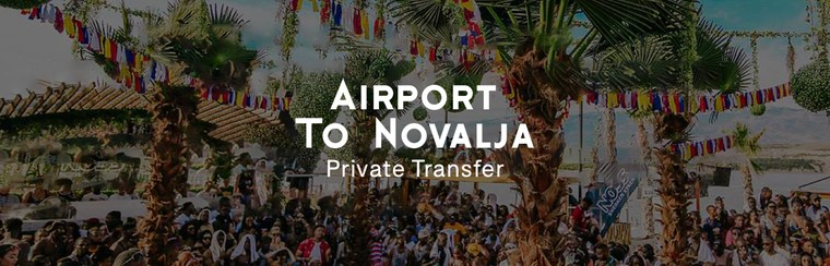 Traslado privado solo ida | Aeropuerto - Novalja