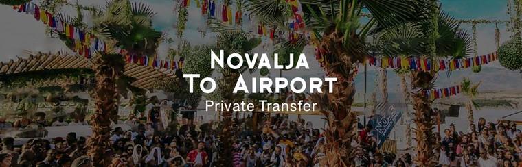 Transfert privé (aller simple) | Novalja - Aéroport