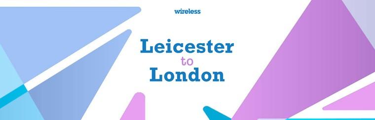Hin- und Rückreise mit dem Bus aus Leicester