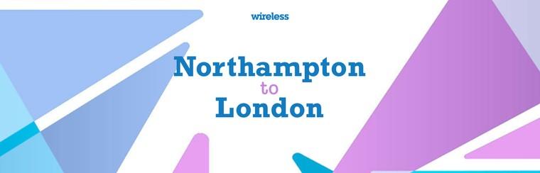 Hin- und Rückfahrt aus Northampton