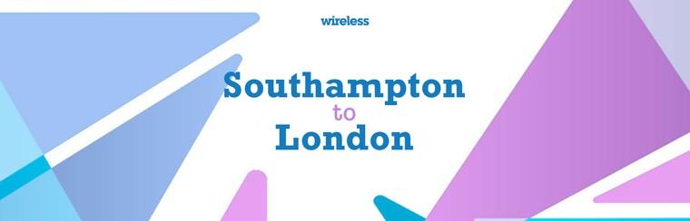Hin- und Rückfahrt mit dem Bus aus Southampton