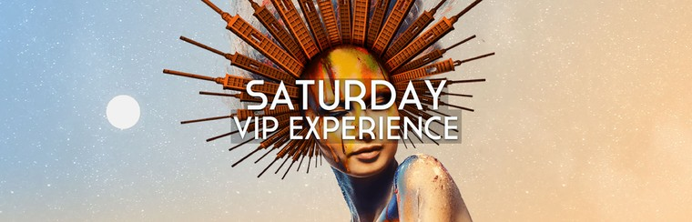 Saturday ticket - VIP EXPERIENCE