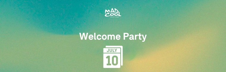 Welcome Party Ticket Wednesday 10