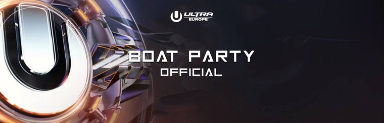 Party in barca ufficiale di Ultra Europe