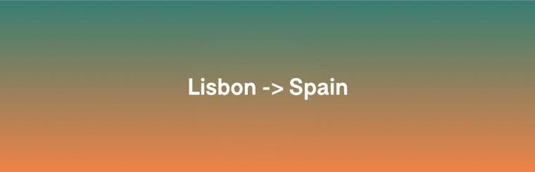 One-Way Coach Travel | Lisbon -> Spain