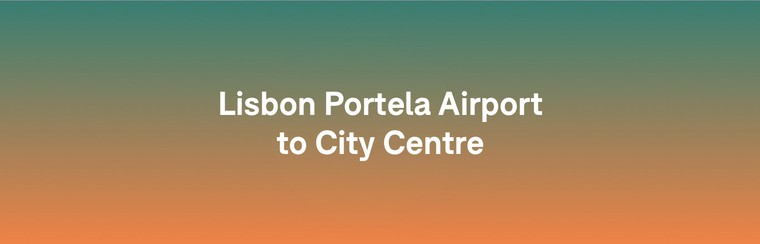 Transfert i'Way- aéroport Humberto Delgado de Lisbonne - Centre-ville de Lisbonne