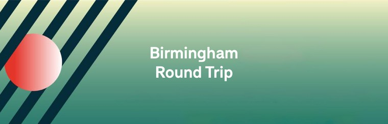 Hin- und Rückfahrt aus Birmingham