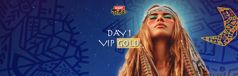 Day 1 VIP Gold Ticket