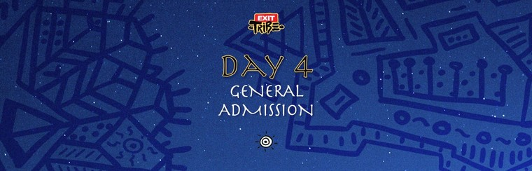 Day 4 | General Admission Ticket