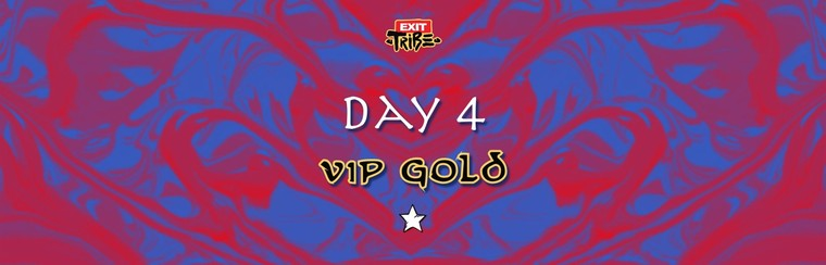 Dag 4 | VIP Gold Ticket