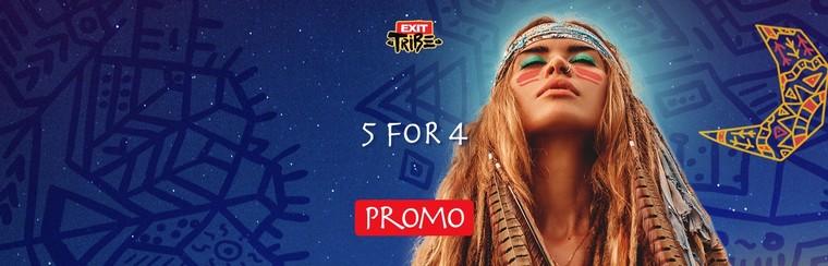 4-Tages-Festivalticket | 4+1 Angebot für Gruppen